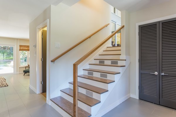 Custom Tempered Glass Stair Railing Photo 7 of Sophisticated urban living in a pastoral setting - Available modern home
