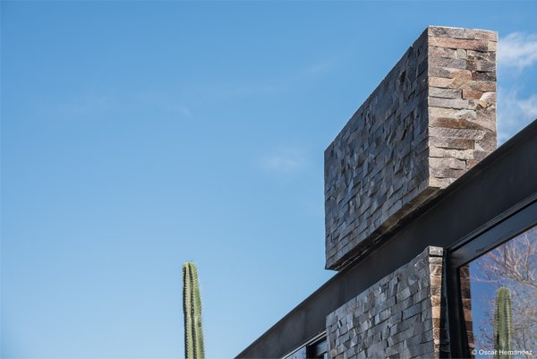 Steel Detail Photo 6 of Casa Kalyvas modern home
