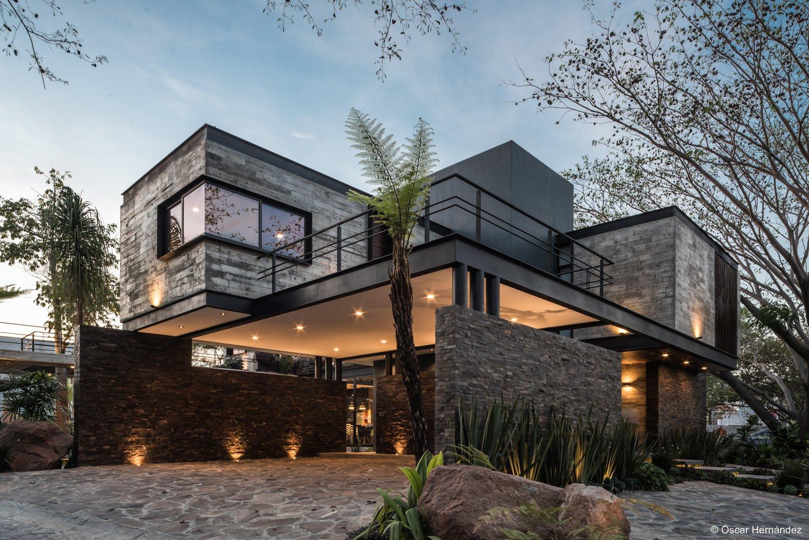 Volumetric design  Casa Kalyvas by Taller de Arquitectura