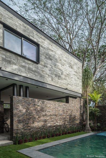 Natural materials Photo 11 of Casa Kalyvas modern home