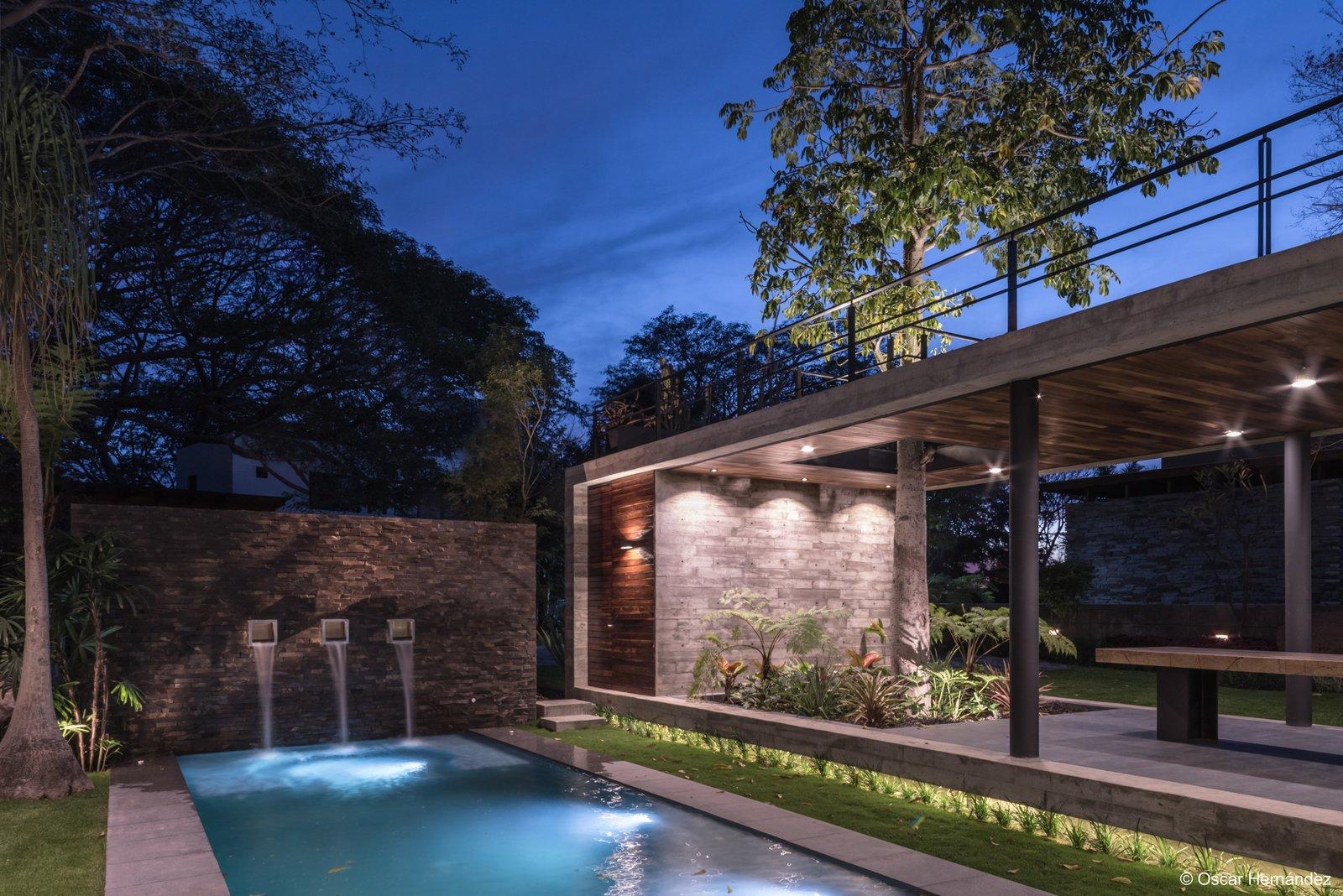 The Kalyvas Fontaine  Casa Kalyvas by Taller de Arquitectura