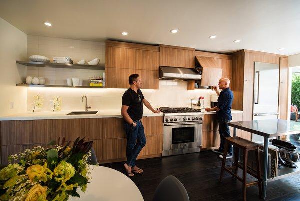 Kitchen Photo 3 of Acevedo-Mudd House modern home