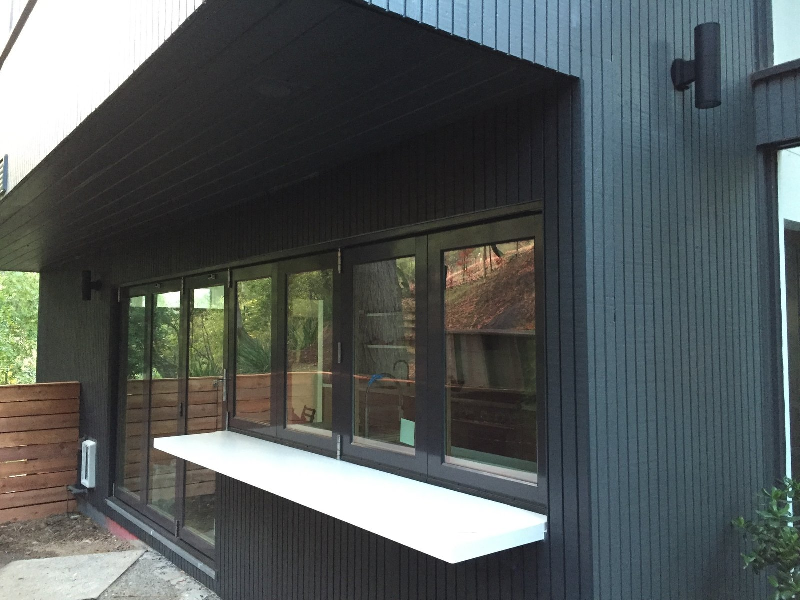 Outdoor Countertops  Acevedo-Mudd House by Denis Acevedo