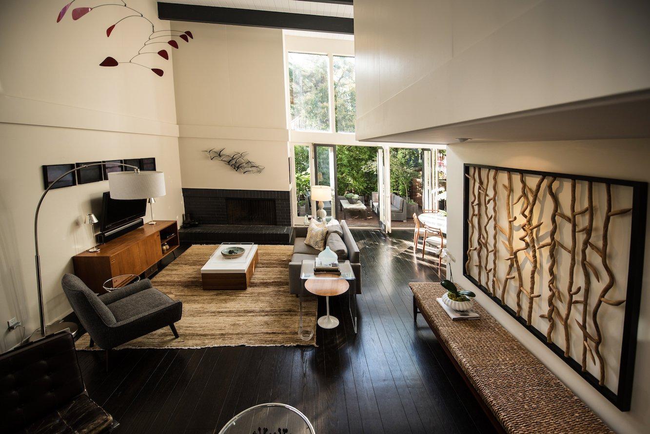 Living Room  Acevedo-Mudd House by Denis Acevedo