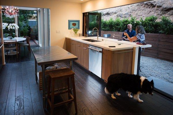 Kitchen Photo 13 of Acevedo-Mudd House modern home
