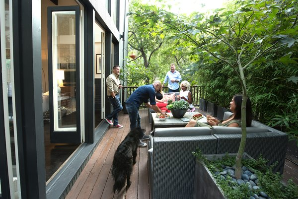 Deck Photo 20 of Acevedo-Mudd House modern home