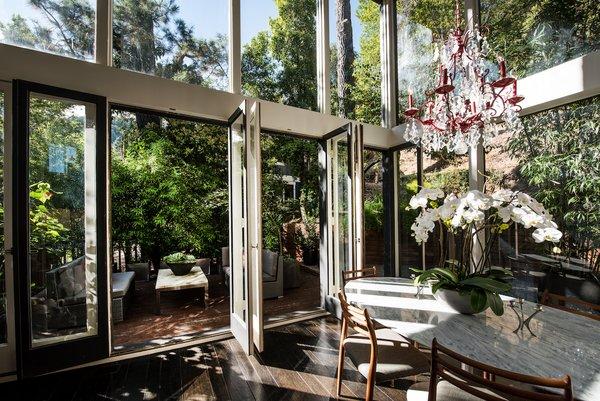 Dining Photo 4 of Acevedo-Mudd House modern home