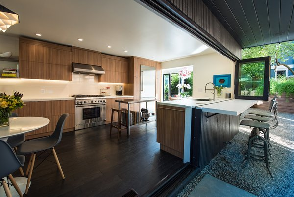 Outdoor Kitchen Photo 2 of Acevedo-Mudd House modern home