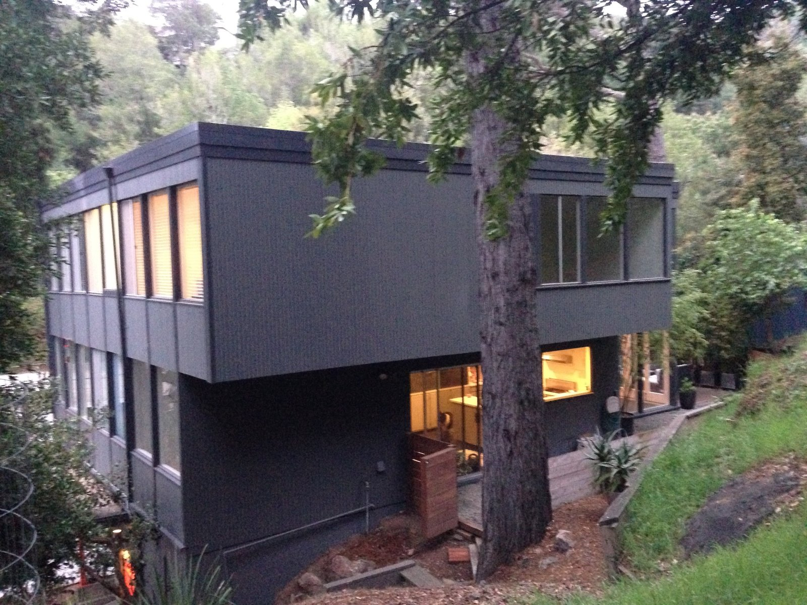 Back of the house  Acevedo-Mudd House by Denis Acevedo