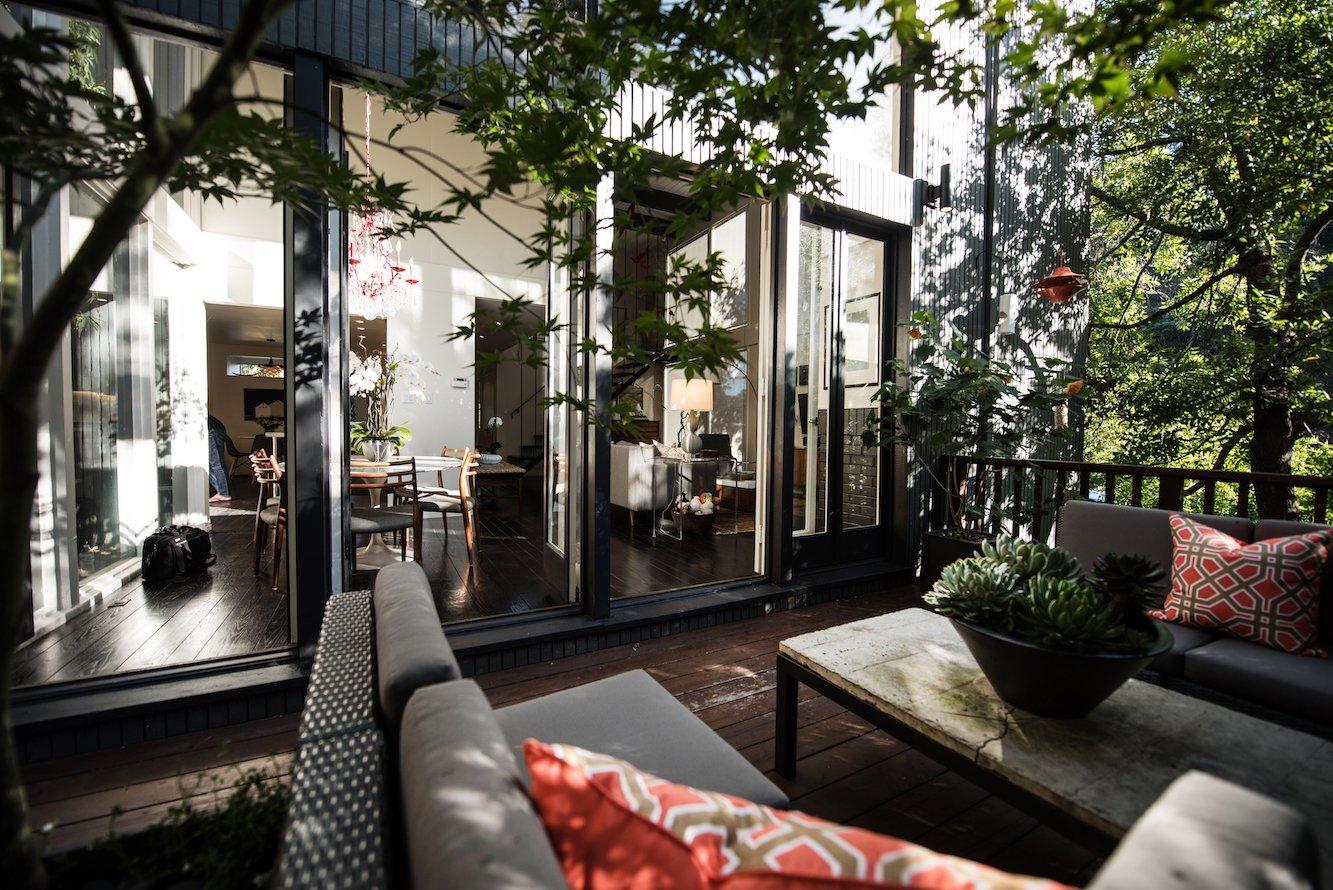 Deck  Acevedo-Mudd House by Denis Acevedo