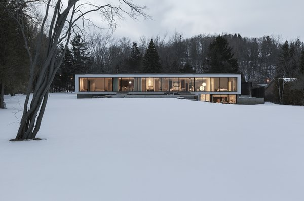 south elevation Photo  of Opposite House modern home