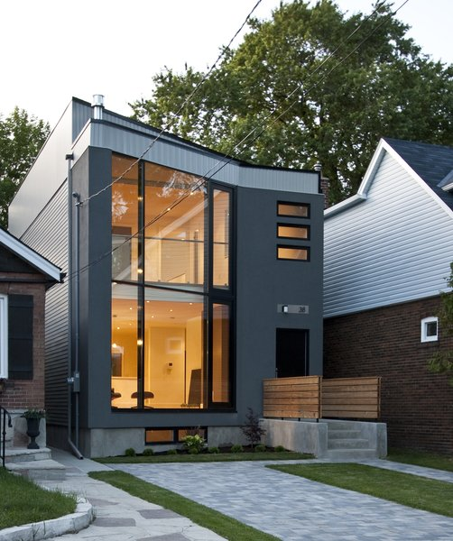Main elevation Photo  of 63˚ House modern home