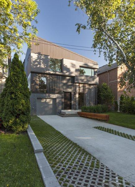 main elevation Photo 2 of Tetris House modern home
