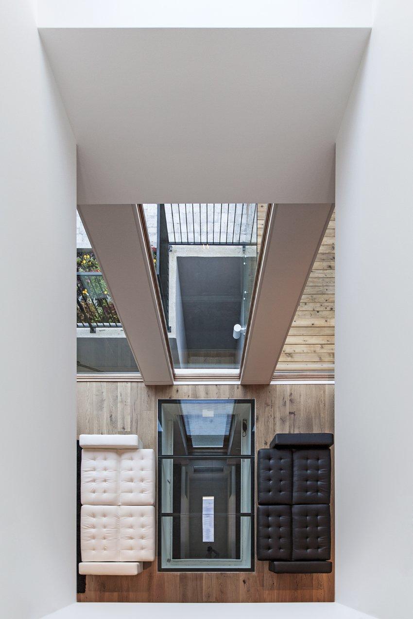 lightwell & glass floor  Tetris House by rzlbd
