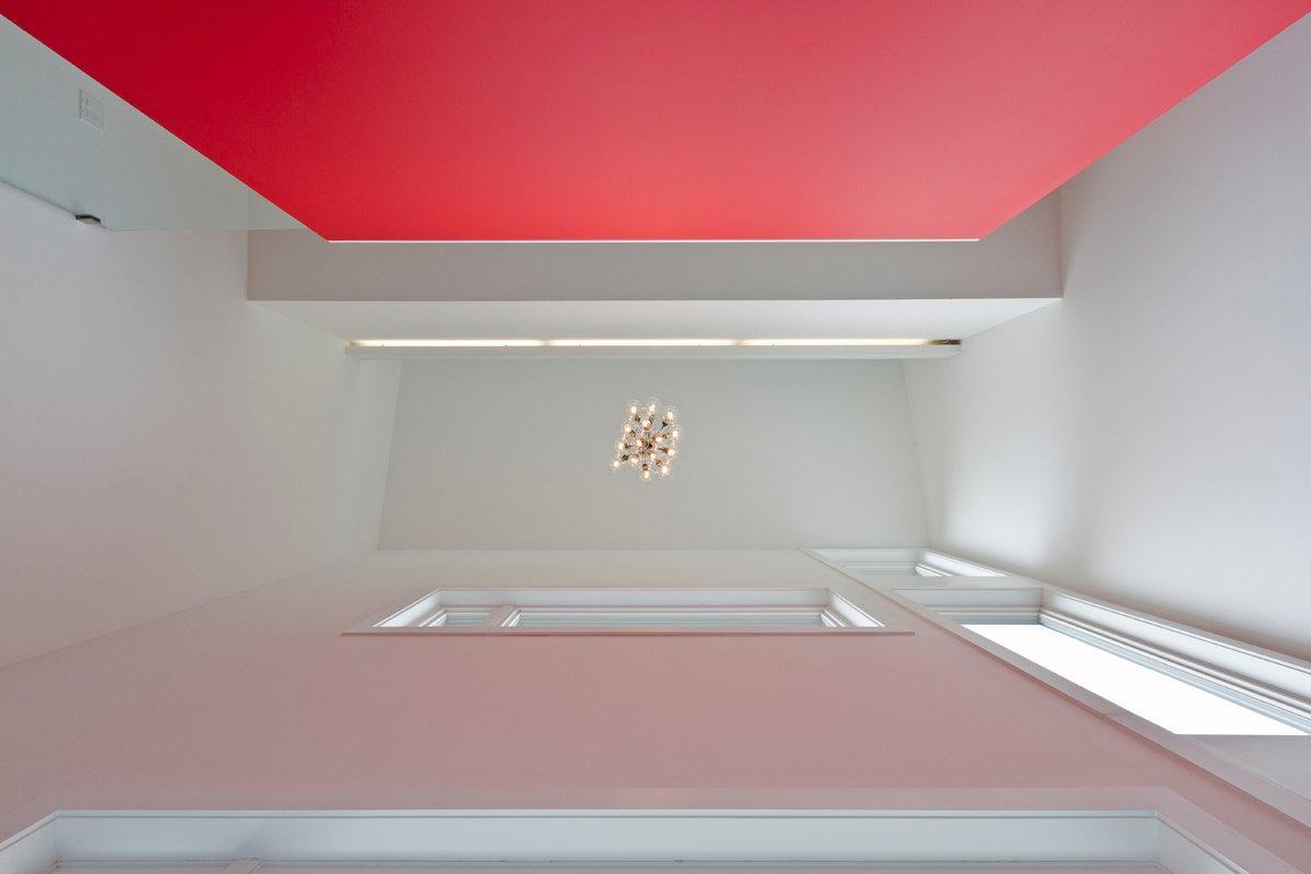 triple-height entry foyer