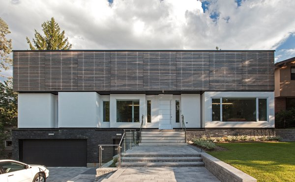 main elevation Photo  of Gallery House modern home