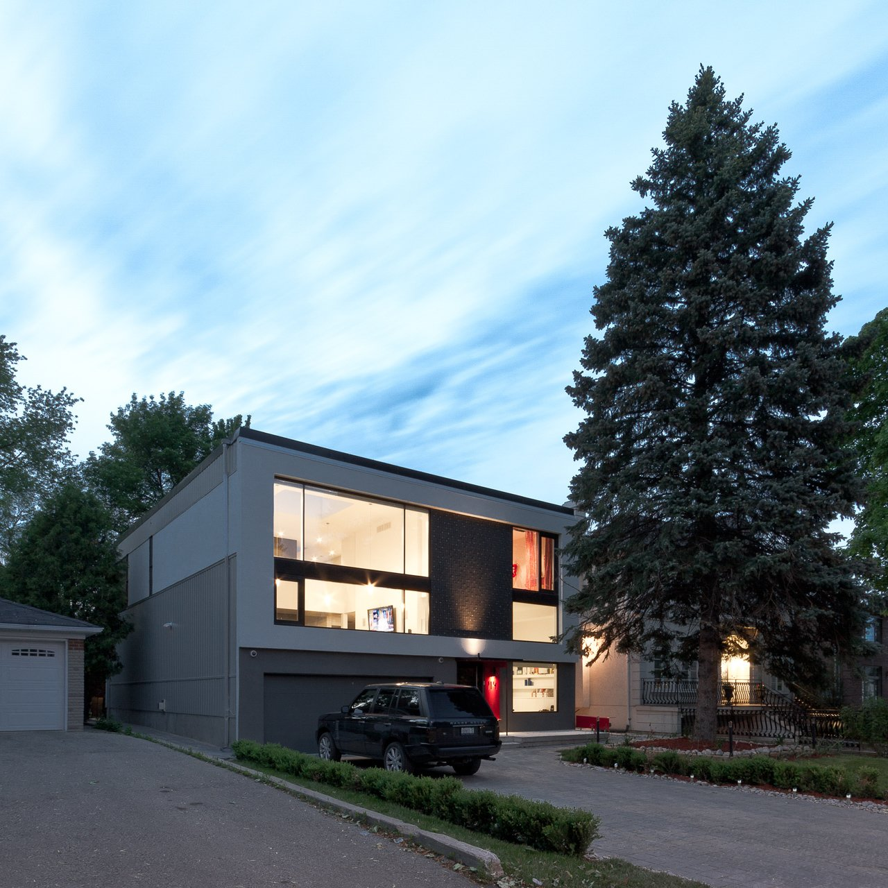 main elevation  5/6 House by rzlbd