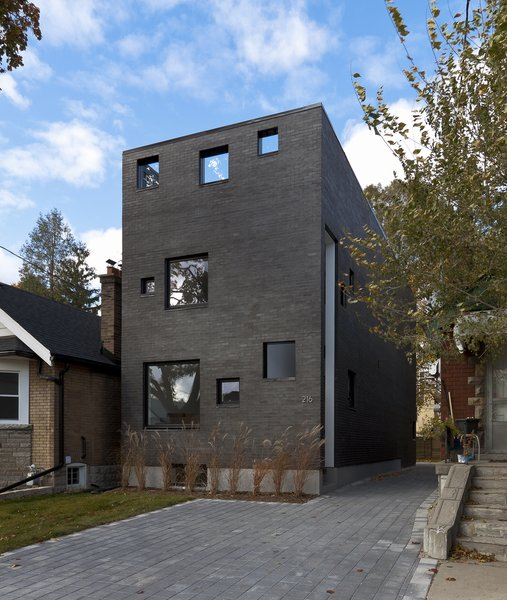main elevation Photo 3 of Charcoal House modern home