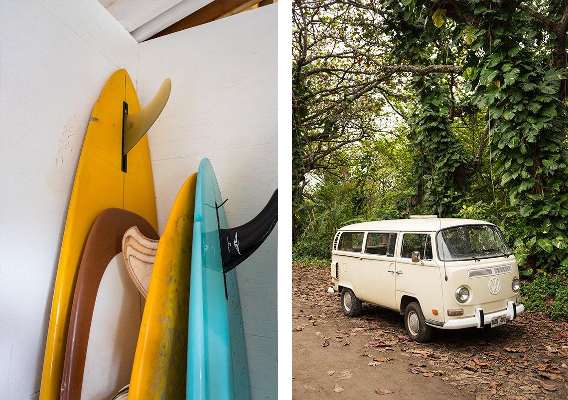 Photo 7 of 9 in A Couple's Dream Hawaiian Surf Shack