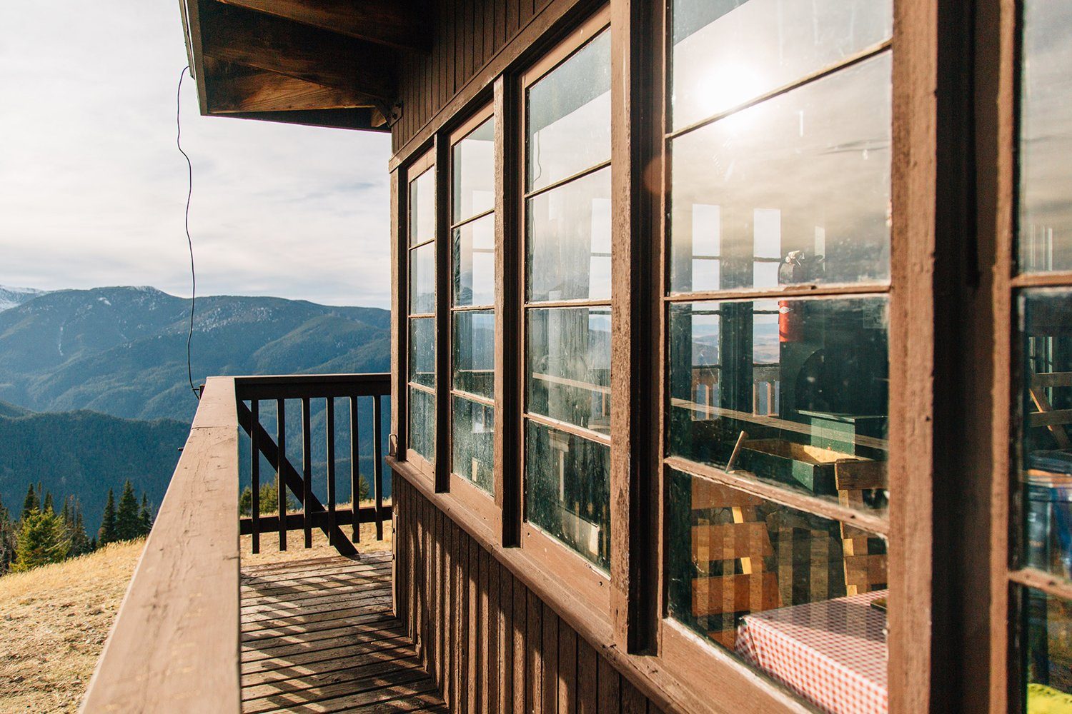 Photo 3 of 7 in A Fire Lookout Tower From the 1930's is Preserved as a Rustic Getaway