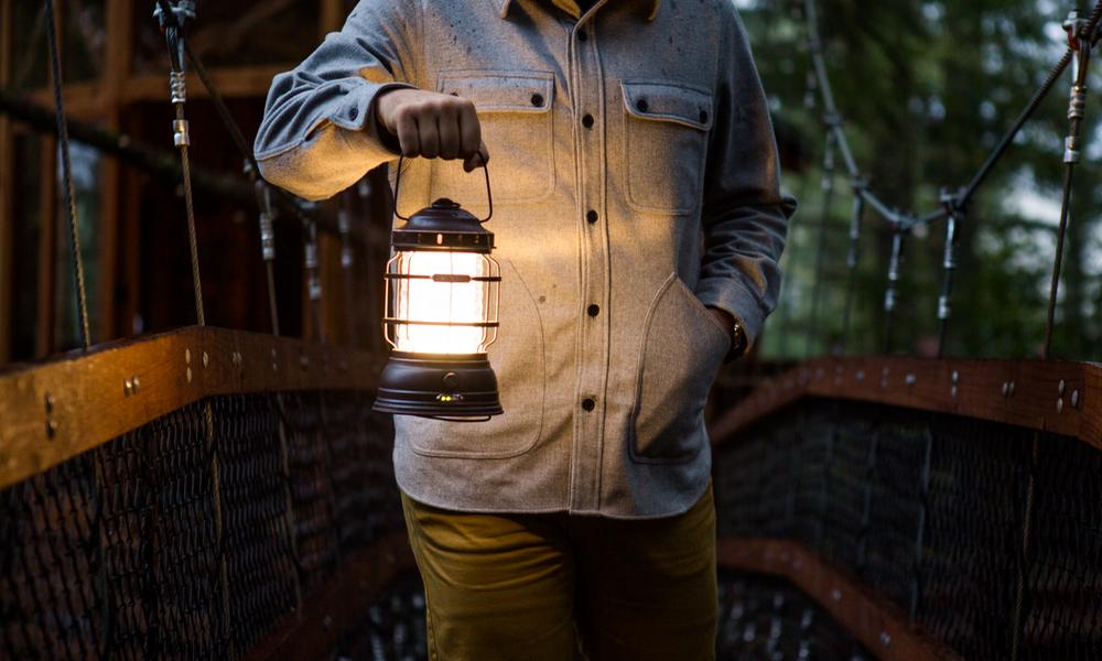 Photo 1 of 1 in Barebones Forest Lantern