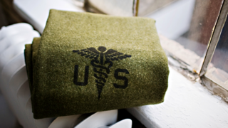 Military Wool Blanket from Faribault