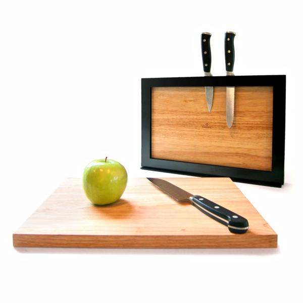 Cutting Board with Storage Frame