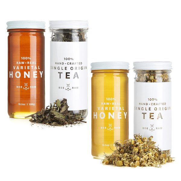 Calming Teas + Honey Set