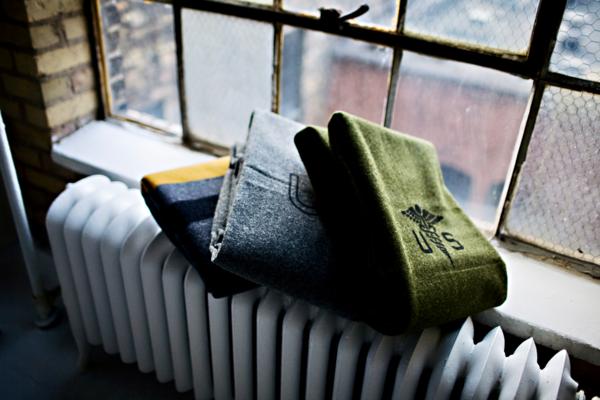 Faribault's Wool Soldier Blankets