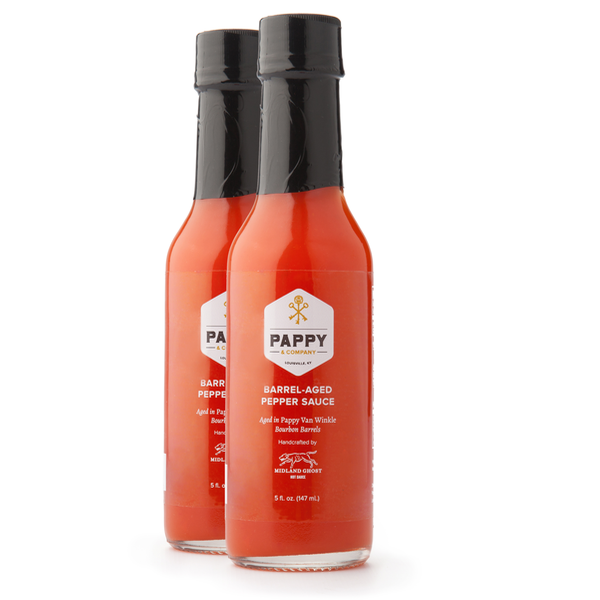 Pappy Barrel-Aged Pepper Sauce  (2 Pack)