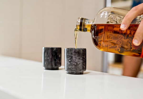 Marble Shot Glasses from Viski