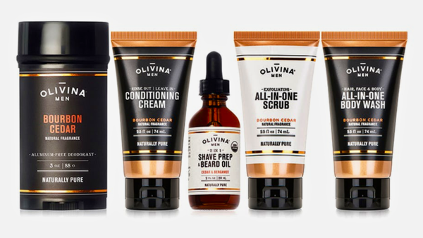Olivina Men's Grooming Essentials