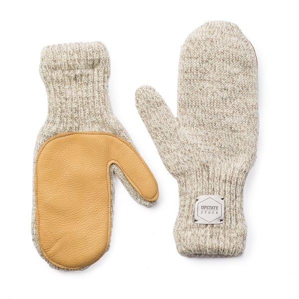 Upstate Stock Melange Ragg Wool Mittens