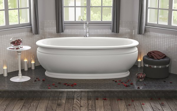 Aquatica Olympian by Savio Vintage freestanding bathtub