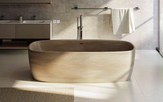 Aquatica Coletta Solid Surface Freestanding Bathtub - Photo 2 of 2 -