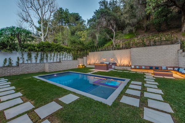 Complete backyard serenity Photo 8 of Brand New Cape Cod in Bel Air asks $6.75 million modern home