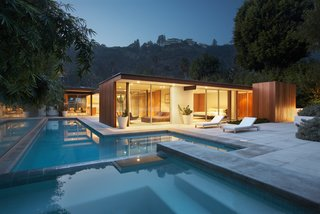 These 11 Modern Homes in Southern California Offer an Indoor/Outdoor Lifestyle - Photo 6 of 11 - Originally designed by architect Ray Kappe, the current owners renovated and enlarged the property in 2007, enhancing the modernist architecture that exemplifies the Southern California lifestyle.
