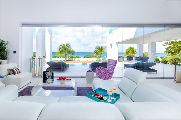 A living space with a view Photo 4 of The Beach House modern home