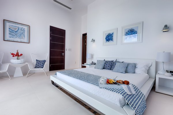 Breakfast in bed in the master bedroom Photo 6 of The Beach House modern home