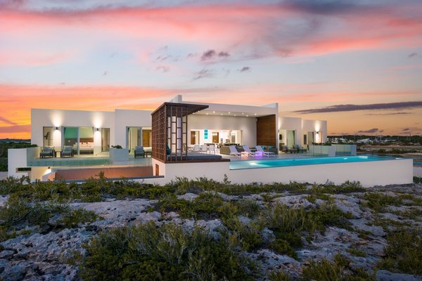 The sunsets on Tip of the Tail Villa; a sight, we assure, you will never get tired of. Photo  of Tip of the Tail Villa modern home