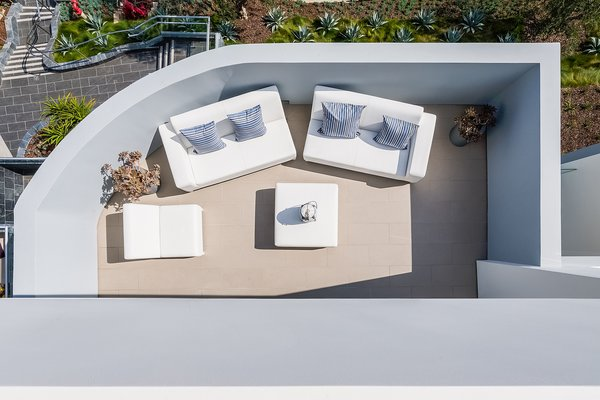 The Master Suite's private, ocean-view terrace  Photo 6 of Carbon Beach modern home