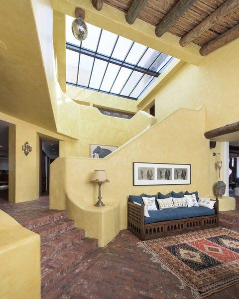 Plentiful skylights let in ample natural light. Photo 3 of Malibu Colony Road modern home