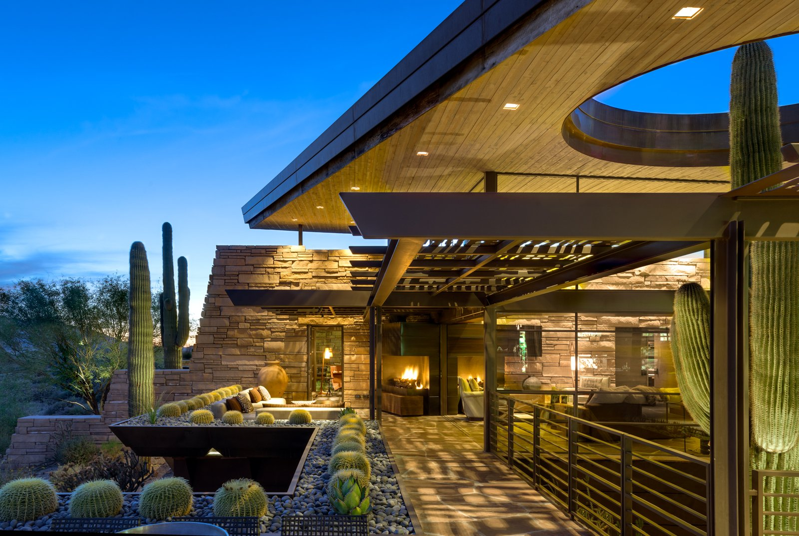 South Patio Layering Tagged: Outdoor and Large Patio, Porch, Deck.  Best Photos from Saguaro Ridge/Orem Residence