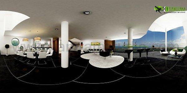 360° Panoramic Interactive Virtual Tours Duplex Apartment Photo  of 360 Panoramic Video Duplex Apartment modern home