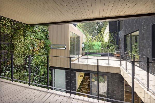 Modern home with outdoor, small patio, porch, deck, and garden. Main Terrace Photo 7 of Casa CorManca
