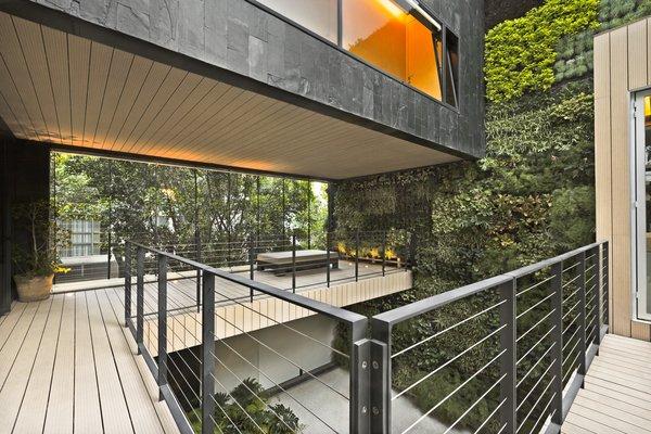 Modern home with outdoor, gardens, and small patio, porch, deck. Main Terrace Photo 6 of Casa CorManca