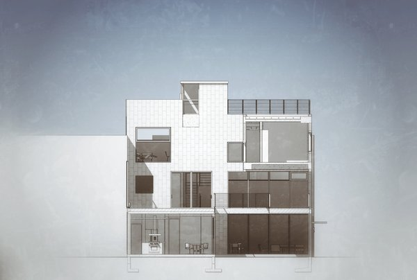 BIM Model Section Photo 16 of Casa CorManca modern home