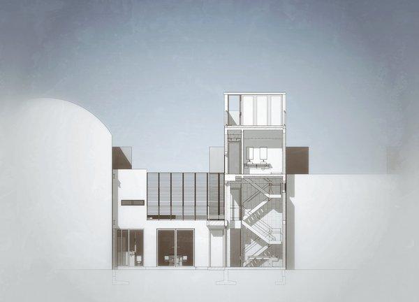 BIM Model Section Photo 17 of Casa CorManca modern home
