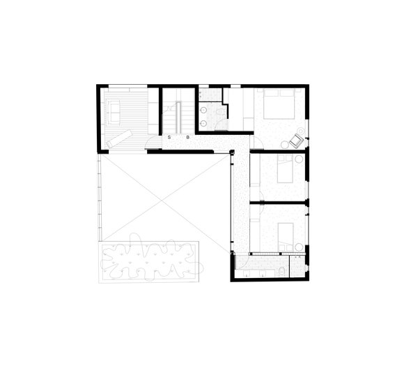 Plan, Rooms Level 3 Photo 20 of Casa CorManca modern home