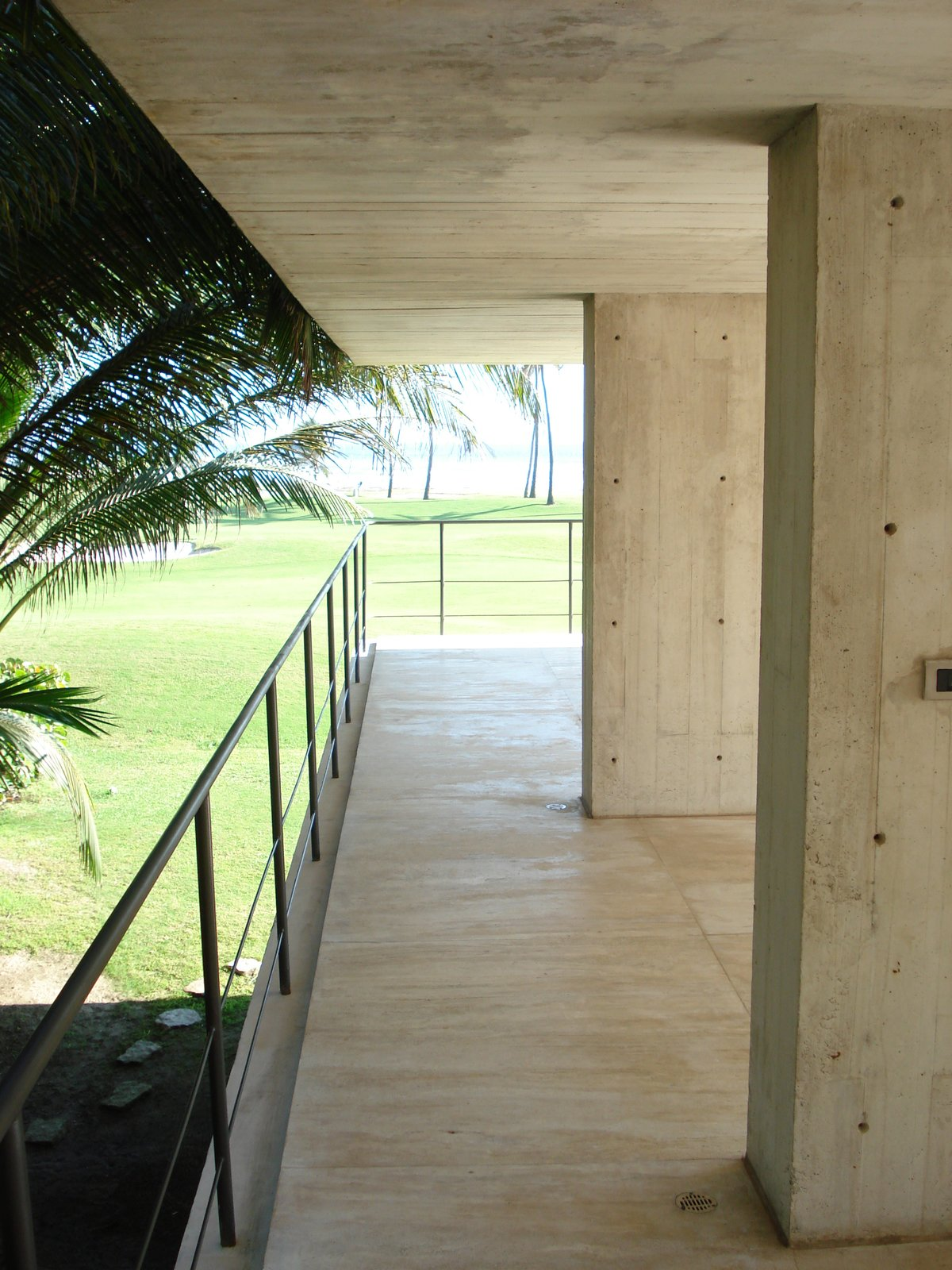 Terrace Level 2 Tagged: Outdoor, Field, and Stone Patio, Porch, Deck. La Caracola Beach House by PAUL CREMOUX studio